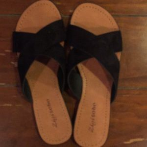 Zigisoho black sandals